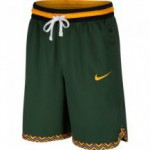 Color  Green of the product Short Nike Dri-fit Dna cosmic bonsai/university gold