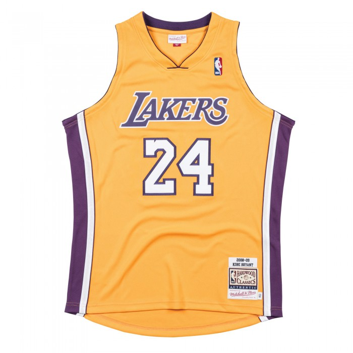 Authentic Jersey '08 La Lakers Ajy4cp19009-lalltgd08kbr-2xl NBA