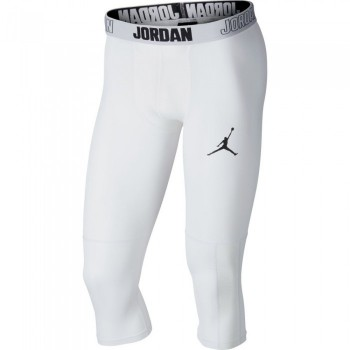 Collant Jordan Dry 23 Alpha 3/4 white/black | Air Jordan