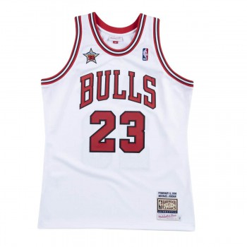 Authentic Jersey '95 Chicago Bulls Ajy4lg19002-cbublck95mjo-2xl NBA | Mitchell & Ness