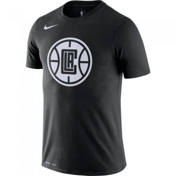 T-shirt NBA Los Angeles Clippers Nike City Edition Logo black | Nike