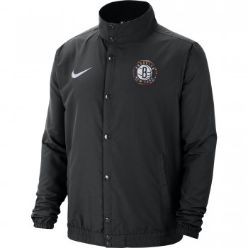 Veste NBA Nets City Edition black/white | Nike