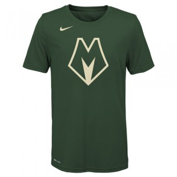 City Edition Logo Ss Tee Bucks Nba Nike | Nike