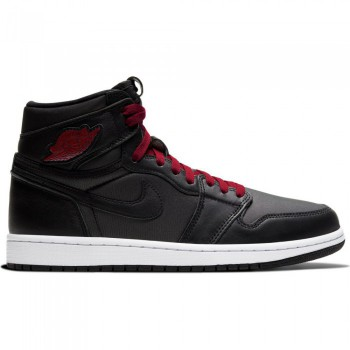 Air Jordan 1 Retro High OG Enfant Black Satin | Air Jordan