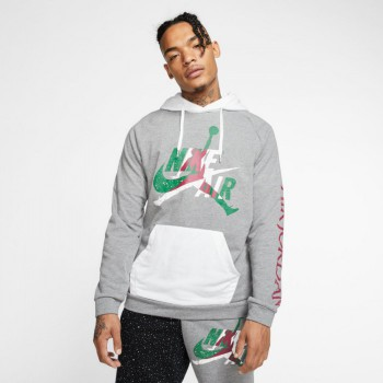 Sweat Jordan Jumpman Classics carbon heather/white | Air Jordan