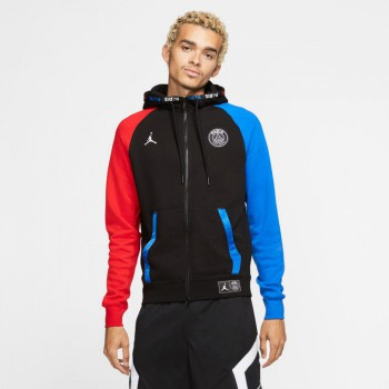 Sweat Paris Saint-germain Black Cat black/hyper cobalt/university red | Air Jordan