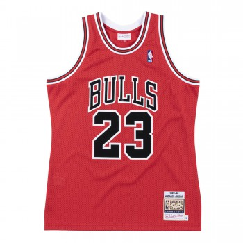 Authentic Jersey - Michael Jordan Ajy4cp19025-cbured187mjo-l NBA | Mitchell & Ness