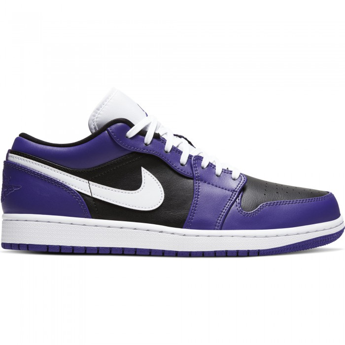 Air Jordan 1 Low court purple/white-black