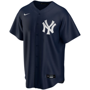 New York Yankees Mlb Nike Official Replica Alternate Jerseyteam Dark Navy | Nike