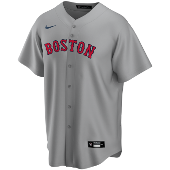 Boston Red Sox Mlb Nike Official Replica Road Jerseydugout Grey | Nike