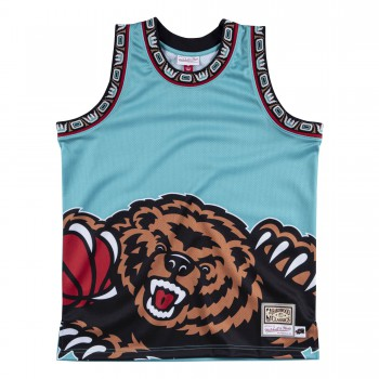 VANCOUVER GRIZZLIES BIG FACE GRIZZLIES JERSEY | Mitchell & Ness