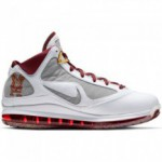 Nike Lebron 7 white/bronze-team red-wolf grey (image n°10)