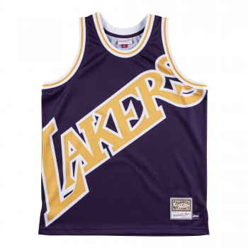 Big Face Lakers Jersey | Mitchell & Ness