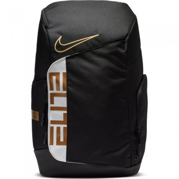 Sac Nike Elite Pro black/white/metallic gold | Nike