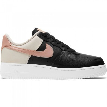 Nike Air Force 1 '07 black/mtlc red bronze-lt orewood brn | Nike