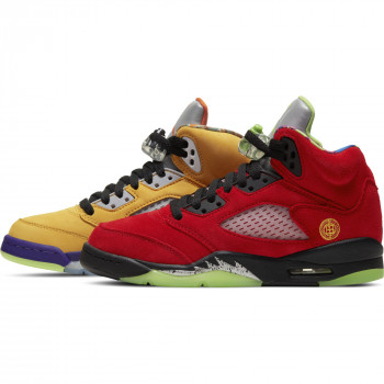 Air Jordan 5 Retro Se (gs) varsity maize/solar orange-court purple | Air Jordan