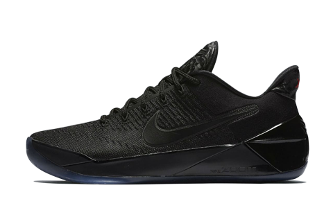 hot sale online cb1f6 580af ... new arrivals vue de profil nike kobe ad triple black f06b6 74be1 ...